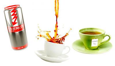 Productos bebidas con cafeína