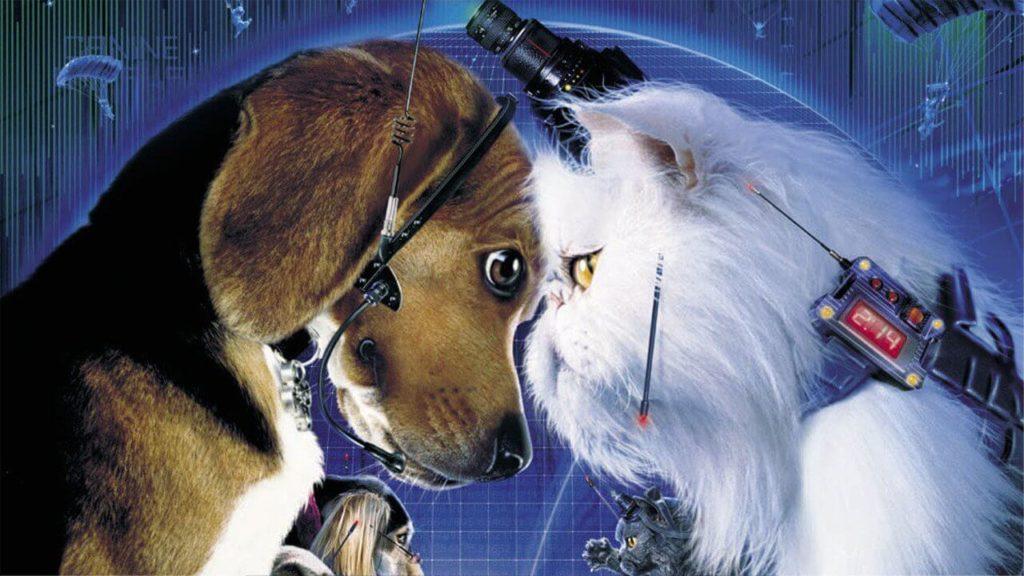 Película animada como perros y gatos (foto)