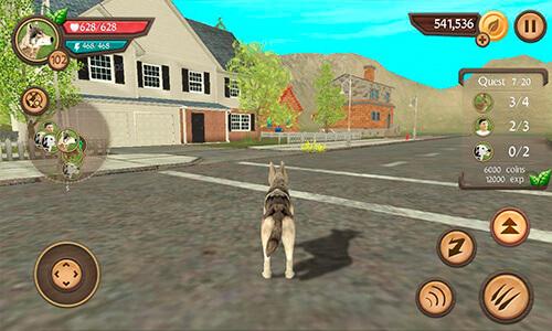 Imagen real del juego Dog Sim Online Raise a Family