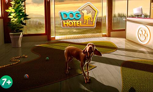 El Juego Dog Hotel Lite para móviles en playstore