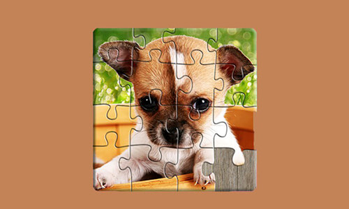 El juego Puzles de perros niños gratis