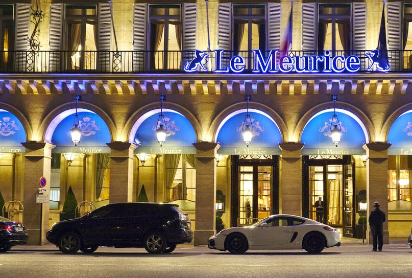 Linda foto del hotel Le Meurice, París