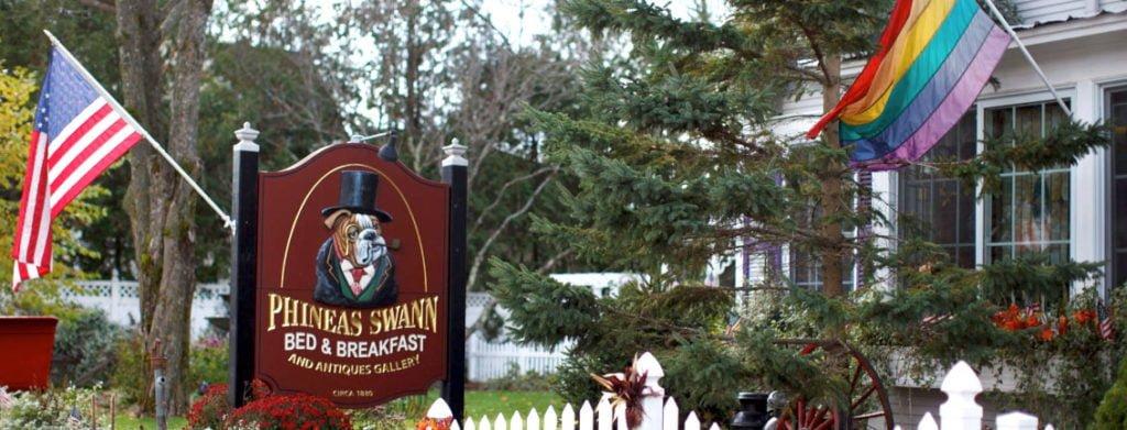 Linda vista del Hotel y pension Phineas Swann Bed and Breaksfast Inn de Vermont